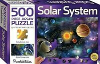 500 Piece Jigsaw Puzzle Solar System by Puzzlebilities Space Planets Hinkler NEW