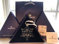 Swarovski Crystal Large Annual Edition Christmas Ornament 2020 Snowflake 5511041