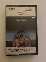 ABBA Arrival Album (1976) Cassette Tape - Dancing Queen, Money Money, Fernando