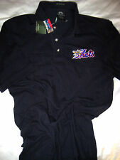 NEW YORK METS BINGHAMTON METS WEATHERPROOF  POLO SHIRT- EMBROIDERED CHEST- NWT-S