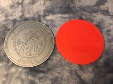 2016 Legion Of Mars Large Disc Mardi Gras Doubloons Set of 2