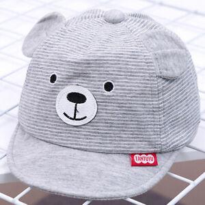 Toddler Kids Baby Boys Girls Cute Baseball Caps Summer Casual Sun Hat Visor Hat