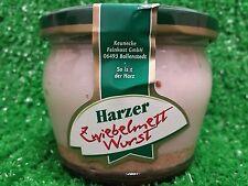 (1,00�'�/100g) Harzer Hausmacher ZWIEBEL-METTWURST 200g  Glas  Keunecke Ostprodukt
