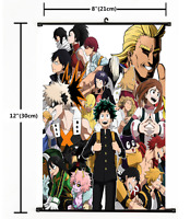 Anime Boku no Hero Academia My Hero Academia Wall Scroll Poster cosplay 2456