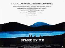 "STAND BY ME UK Repro 30""x 40"" quad poster Corey Feldman River Phoenix FREE P&P"
