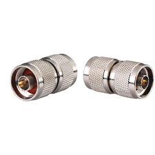 10 Stück N Stecker zu N Stecker Kupfer RF Stecker Adapter für Handy Repeater