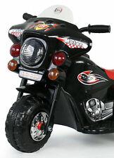 Kindermotorrad Elektromotorrad Kinder Elektro Polizei Motorrad Fahrzeug NEU