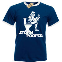 STORM POOPER MENS T SHIRT FUNNY STAR RINGER TROOPER WARS BANKSY HIPSTER