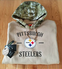 2019 PITTSBURGH STEELERS Salute to Service Hoodie Nike - XL - 100% AUTHENTIC