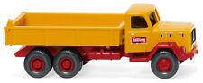 Wiking 42404 Camión de plataforma Volcadora (magirus)