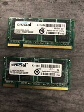 4GB (2x2GB) PC2-5300s DDR2-667MHz/DDR2-800 Laptop Memory SODIMM Intel 200pin US
