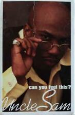 Uncle Sam: Can You Feel This? PROMO MUSIC AUDIO CASSETTE w/ Artwork Waterbed NEW