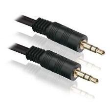 Câbles audio et adaptateurs avec un connecteur Jack mâle 3,5 mm sans répartition ni duplication des connexions (1: 1)