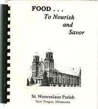 CZECH COOKBOOK - NEW PRAGUE, MINNESOTA  - ST. WENCESLAUS CHURCH - 1979 - GREAT!!