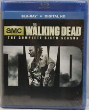 The Walking Dead Sixth Season -  Blu-Ray and Digital HD - New