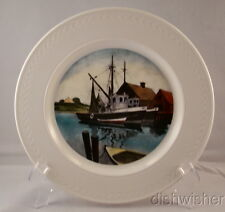 Delano Studios Thomas Cooper NEW ENGLAND FISHING BOATS  Collector Plate 10 3/8""