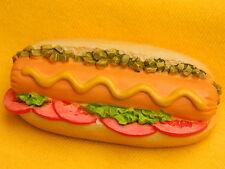 Hot Dog Fast Food Hotdog Frankfurters Weiners Refrigerator 3D Fridge Magnet