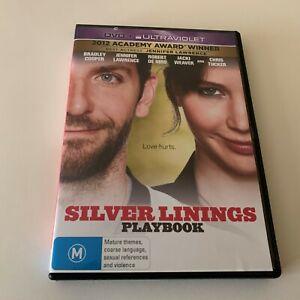 Silver Linings Playbook (DVD, 2013) Region 4 Bradley Cooper, Jennifer Lawrence
