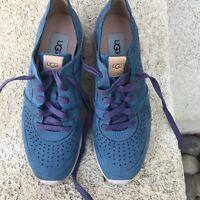 New UGG Tye Size 7 Womens Blue Sneaker