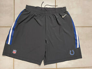 NWOT NIKE Indianapolis Colts NFL On Field GRAY Shorts Men's 3XL