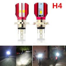 H4 16W 1700LM COB LED Motorcycle Headlight Hi/Lo Beam Front Head Lamp Bulb 6000K