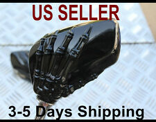 Hand Skull Mirrors for Kymco Agility Vitality Super Sento People 50 125 150 250