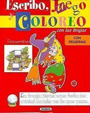 USED (VG) Encuentra - Escribo, Juego y Coloreo Con Las Brujas (Spanish Edition)