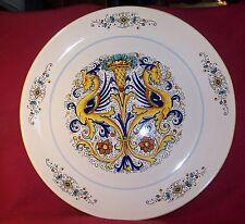 """Deruta ~ Ceramiche ~ Super Extra Large Round Serving Platter Chop Tray 18"""""""