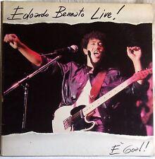 EDOARDO BENNATO LIVE E' GOAL LP GATEFOLD