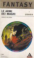 Le armi dei maghi di Sergio Valzania -  Mondadori 2001 Urania Fantasy romanzo