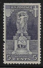 US Scott #628, Single 1926 Ericsson Memorial 5c FVF MH