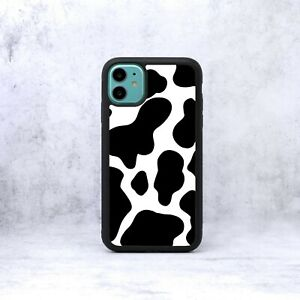 FC Cow Black Spots Cows Spot Print Animal Pattern Phone Case/Cover For iPhone UK