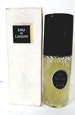 Eau De Lanvin 2.0 oz/60 ml Edt Spray for Women  New In Damage bottle & Old Box