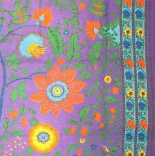 Tree of Life Throw Tapestry Tablecloth Coverlet Spread Wall Hang 60x90 Purple