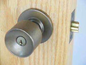 Schlage Luna Keyed Entry Knob Oil Rubbed Bronze A53PDLUNA613 #7k1