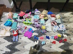 Vintage Older Lot Of Over 35 Kelly Clothing Lot 4-5 Inch Doll Size Mattel