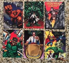 1994 Fleer Flair Marvel Universe Base Singles, U-Pick $1.95 each, free shipping.