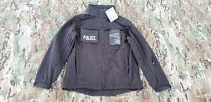 NEW CONDOR 614-002-S BLACK HAZE Softshell Police SWAT Tactical Jacket Coat SMALL