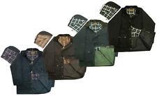 Mens Premium British Unpadded Wax Jacket Game Coat Waterproof Windproof
