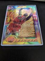 MICHAEL JORDAN 1993 TOPPS FINEST #1 CARD NBA HALL OF FAMER MJ BEAUTIFUL BULLS MJ