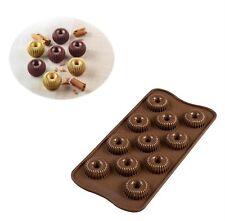 Silikomart Stampo in Silicone N.15 Choco Crown per Cioccolatini Scg49 3d