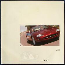brochure 1999 JAGUAR XK8 & XKR  !!! COUPÉ & CABRIOLET