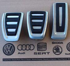 Audi A4 B8 original S4 Pedalset S-line Pedale Pedalkappen A5 Q5 pedal pads caps