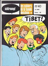 TIBET Schtroumpf revue BD no 40 TBE