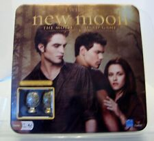 The Twilight Saga Board Game New Moon The Movie with Metal Cullen Crest Pieces