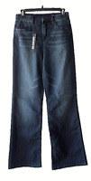 Blank NYC Size 28 High Rise Flare Jeans Dark Wash Long Inseam Jeans