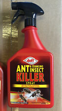 DOFF ANT & CRAWLING INSECT KILLER SPRAY BEETLES, COCKROACHES, FLIES, MOTS, WASPS