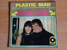 SONNY AND CHER     RARE  EP 45 T  SIXTIES   PLASTIC MAN