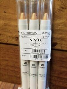 NYX Jumbo Eye Pencil Cashmere 3 Pack NEW SEALED