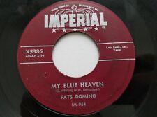 "FATS DOMINO - My Blue Heaven / I'm In Love Again 1956 IMPERIAL 7"" Rock R&B"